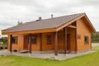Blockhaus Aussenansicht 37