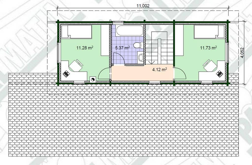 Holz-Blockhaus-Modell-Aare-Grundrissplan-OG