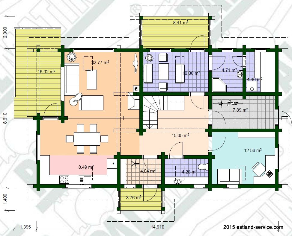 Blockhaus Deiw EG