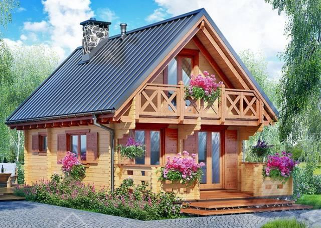 Blockhaus Aufbauen
