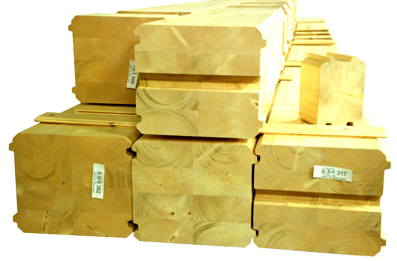 Holzhausbau - Bauteile