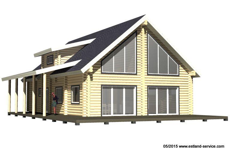 Blockhaus Modell Helen 1