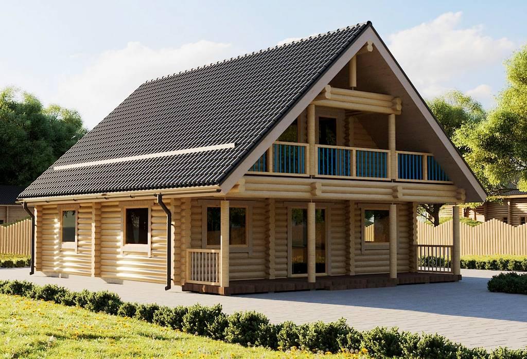 Holz - Landhaus Milla Aussenansicht