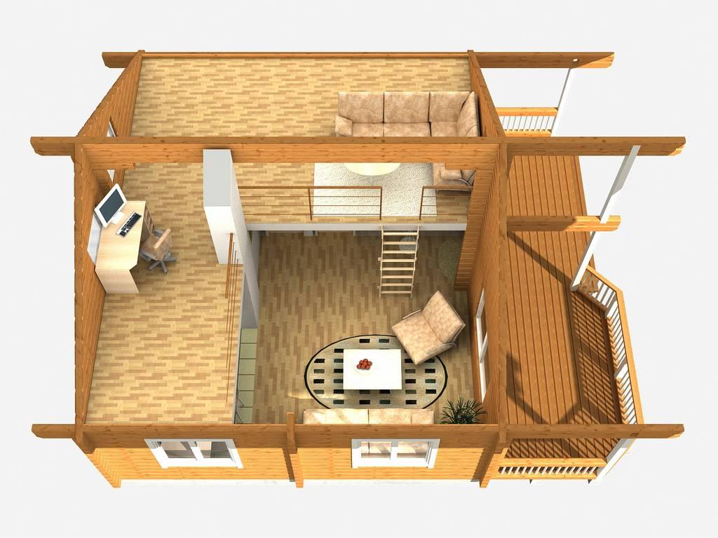 Sommer Blockhaus Puhkus og