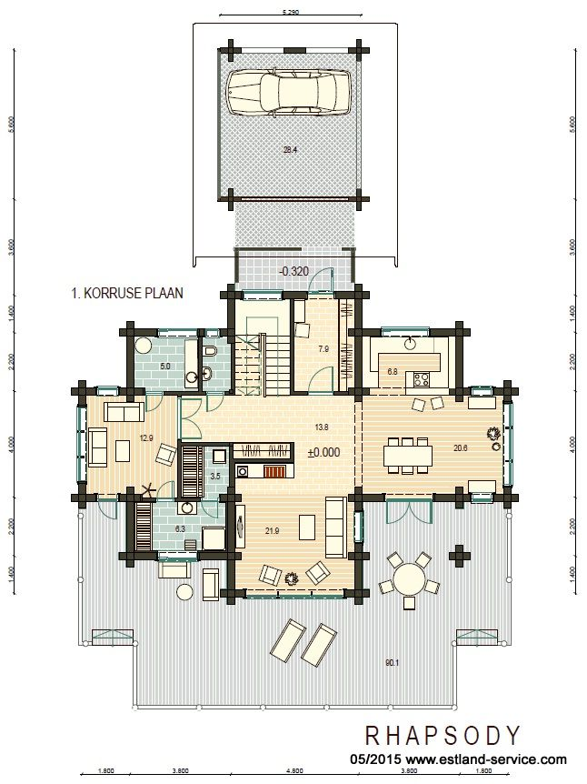 Blockhaus Rhapsody EG Plan