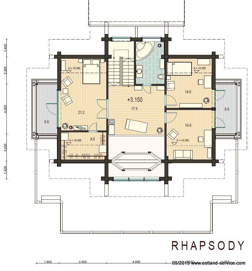 Blockhaus Rhapsody OG Plan
