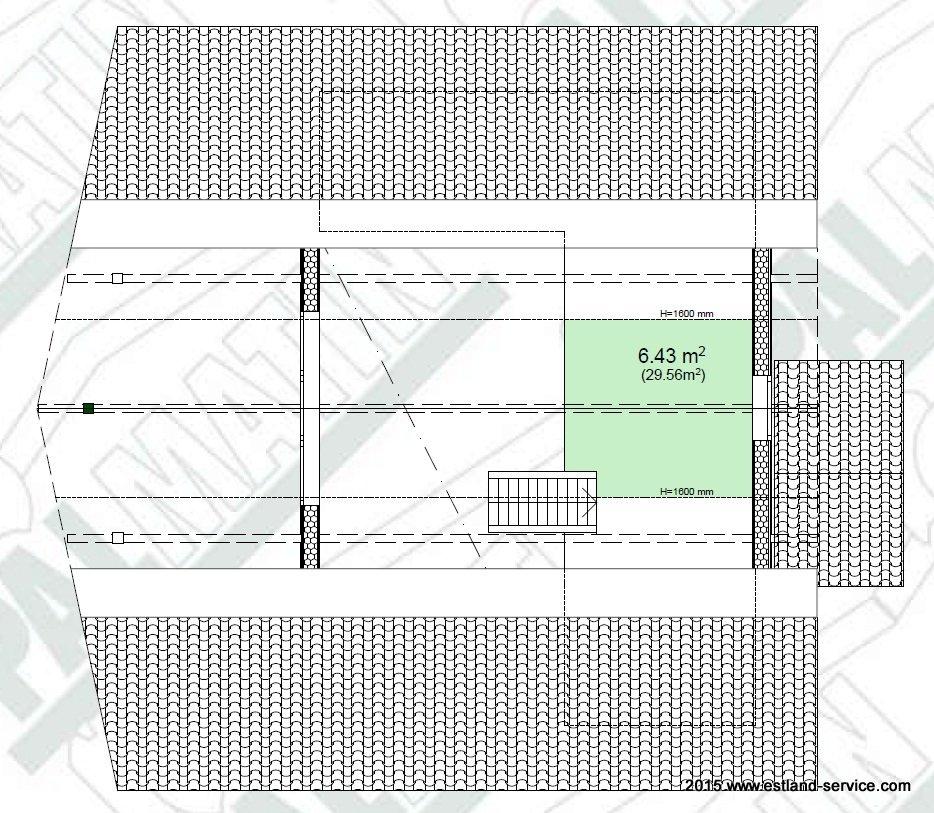 estnisches Blockhaus Modell Sinilill OG Grundriss
