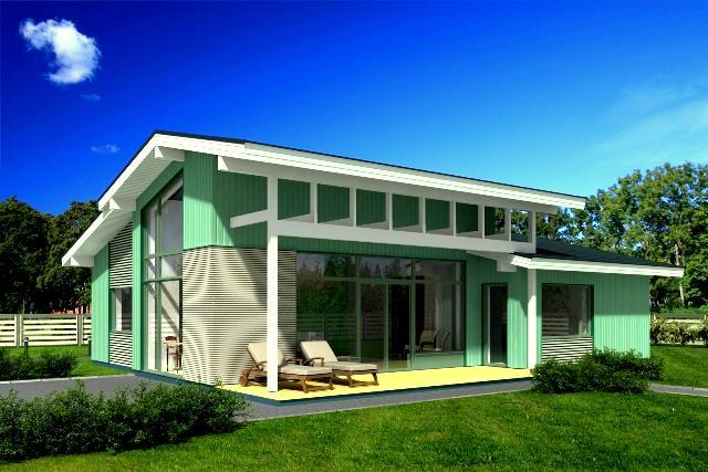Holzhaus aus Estland BLOCKHAUS-SONATA