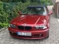BMW Cabrio rot