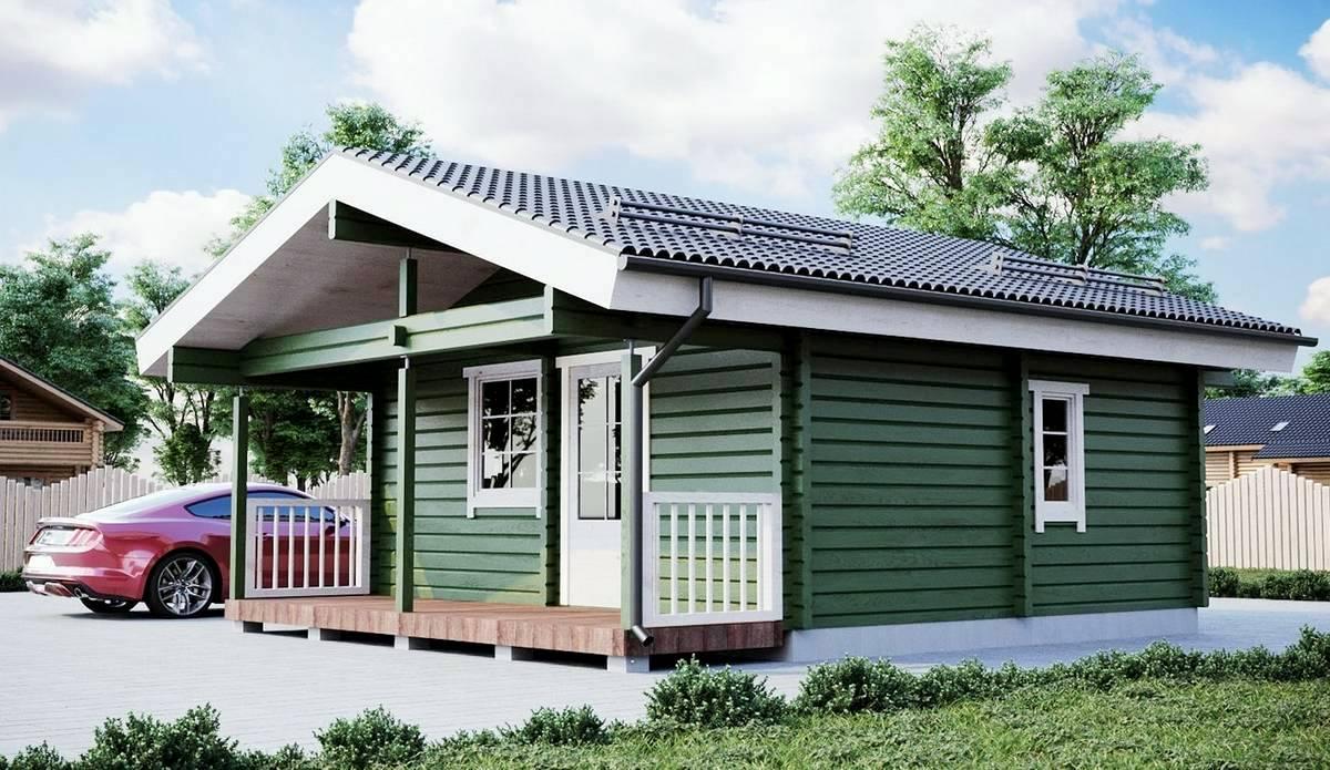 Camping Gartenhaus 1
