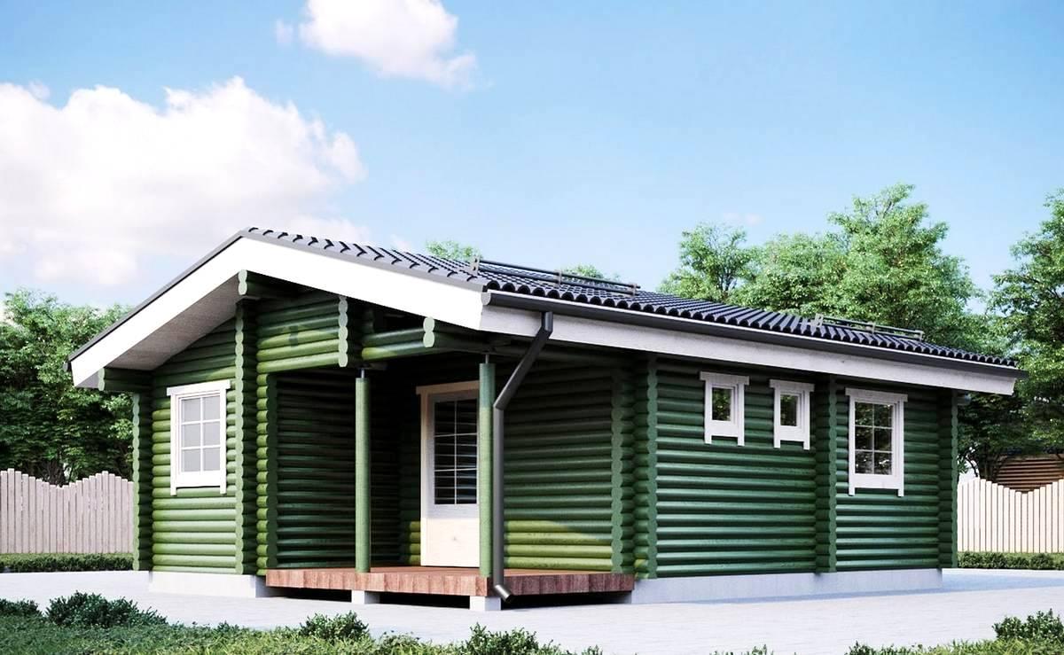 Camping - Gartenhaus II 34,4 qm