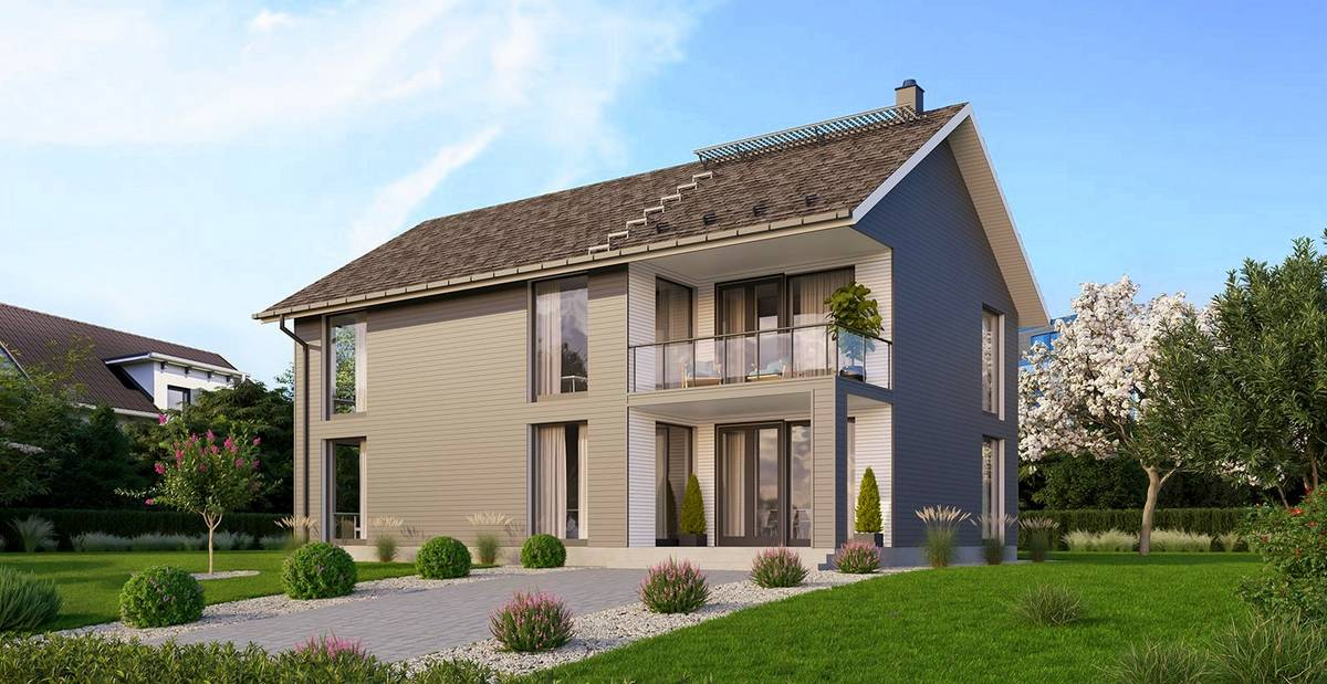 Element-Haus France 4 Aussenansicht 2