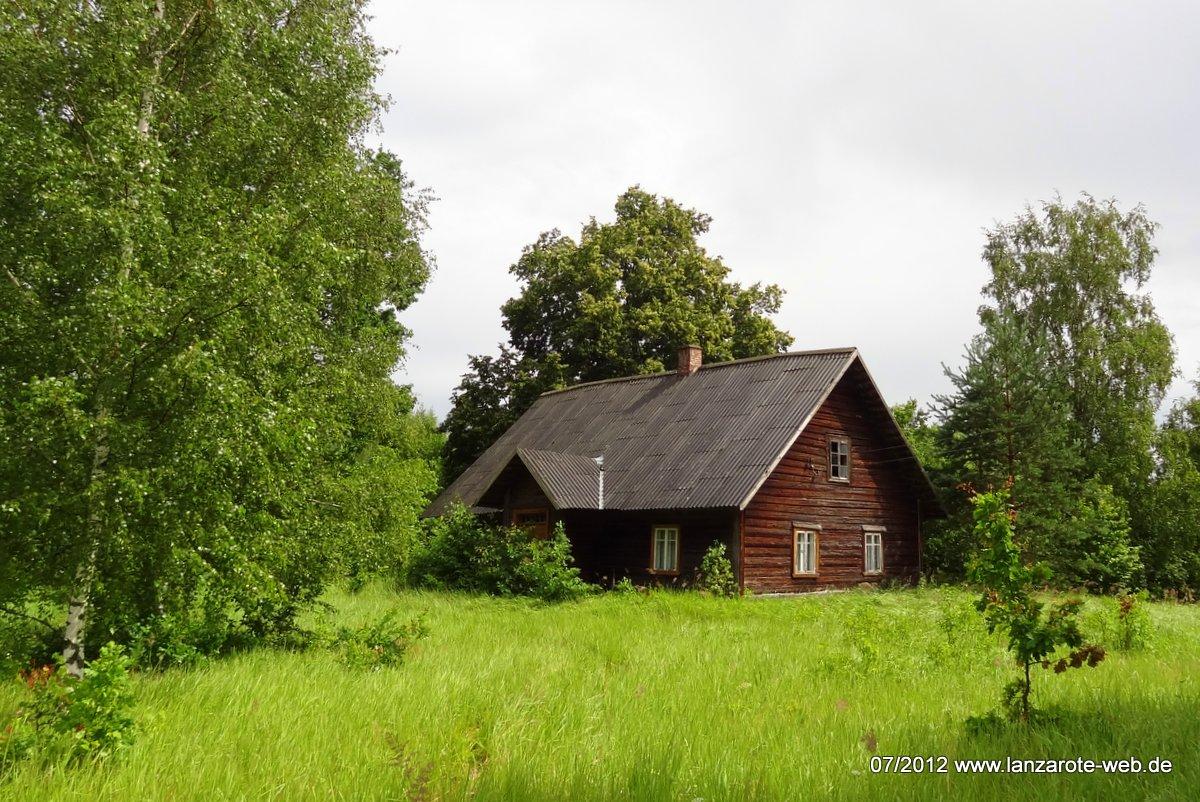 Blockhaus in Süd Estland
