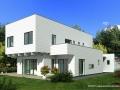 modernes Holzhaus Cantata Foto 2