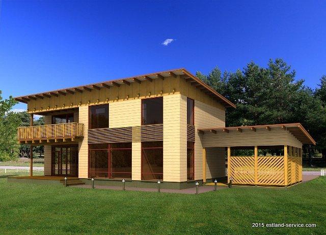 Holzhaus Haab Foto 1