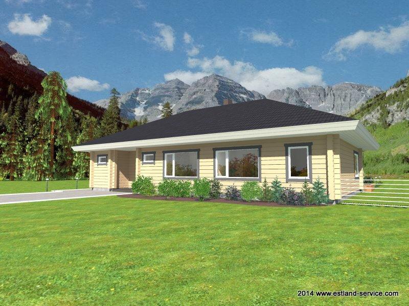 Holzhaus Pihlakas 2