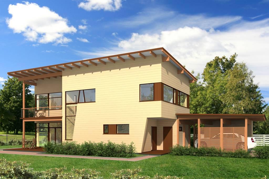 Holz - Landhaus Scherzo Aussen 2