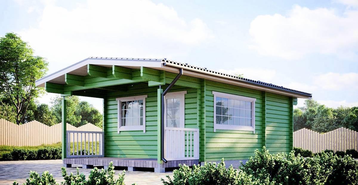 Gäste- oder Campinghaus Lars I Aussen