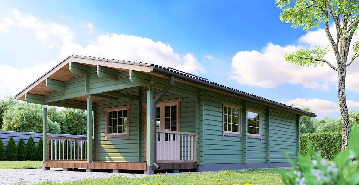 Gäste- oder Campinghaus Lars 2 Aussen