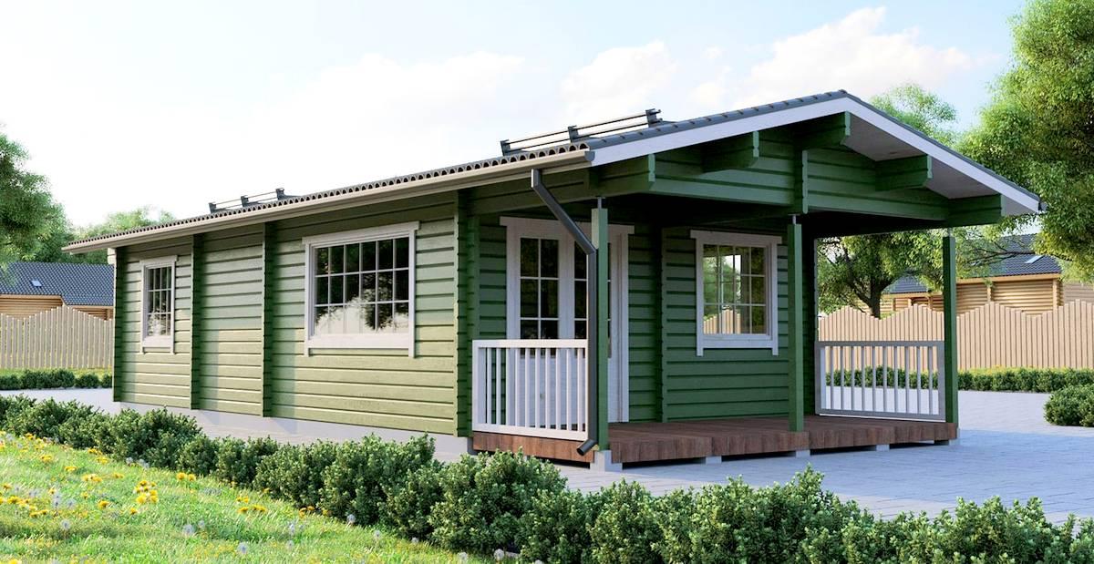 Gäste- oder Campinghaus Lars 3 Aussen