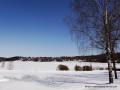 Winter in Põlva Süd Estland