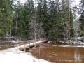 Winter in Taevaskoja Süd Estland