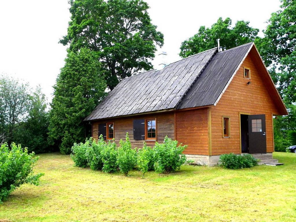 Holz-Wohnhaus Põlva vald Estland