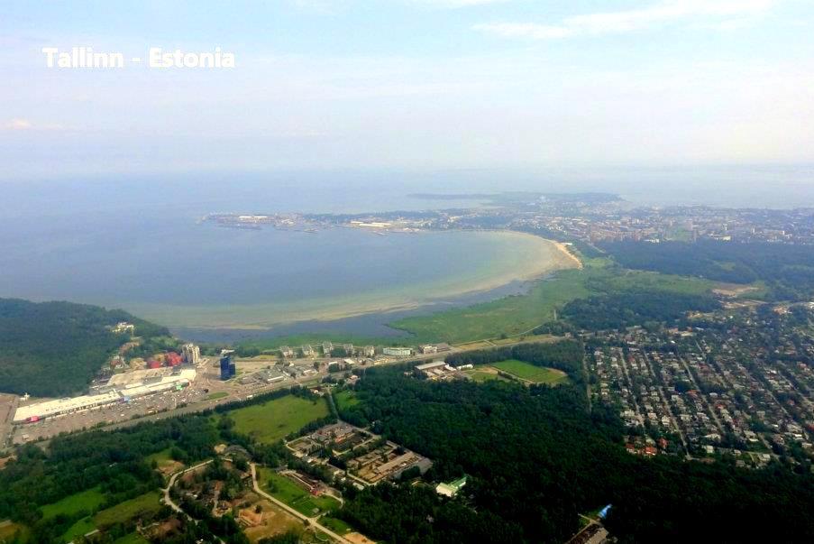 Tallinn Luftbild