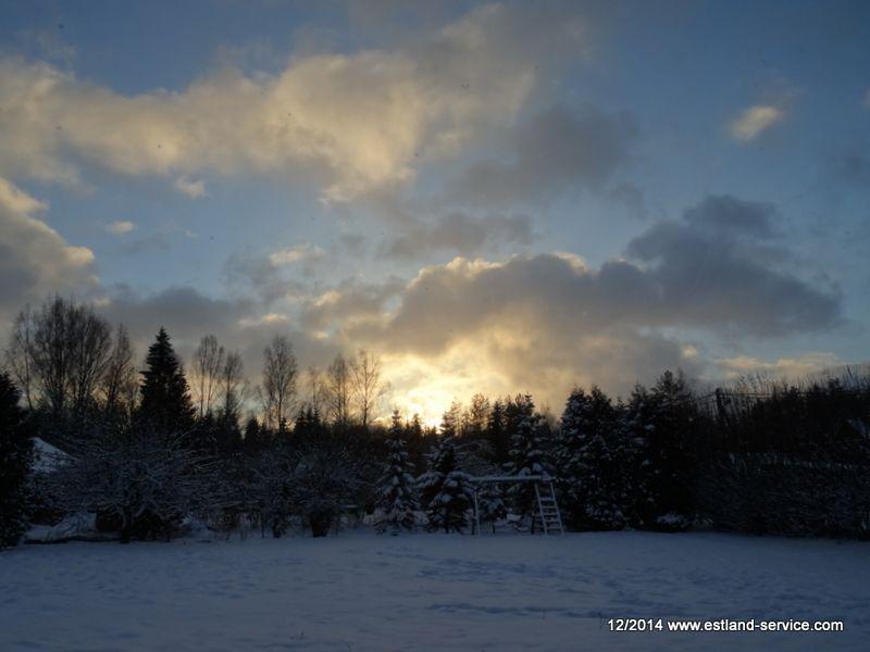 Estland im Winter